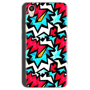 Gionee F103 Mobile Covers Cases Colored Design Pattern - Lowest Price - Paybydaddy.com