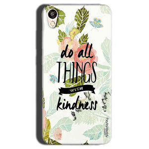 Gionee F103 Mobile Covers Cases Do all things with kindness - Lowest Price - Paybydaddy.com