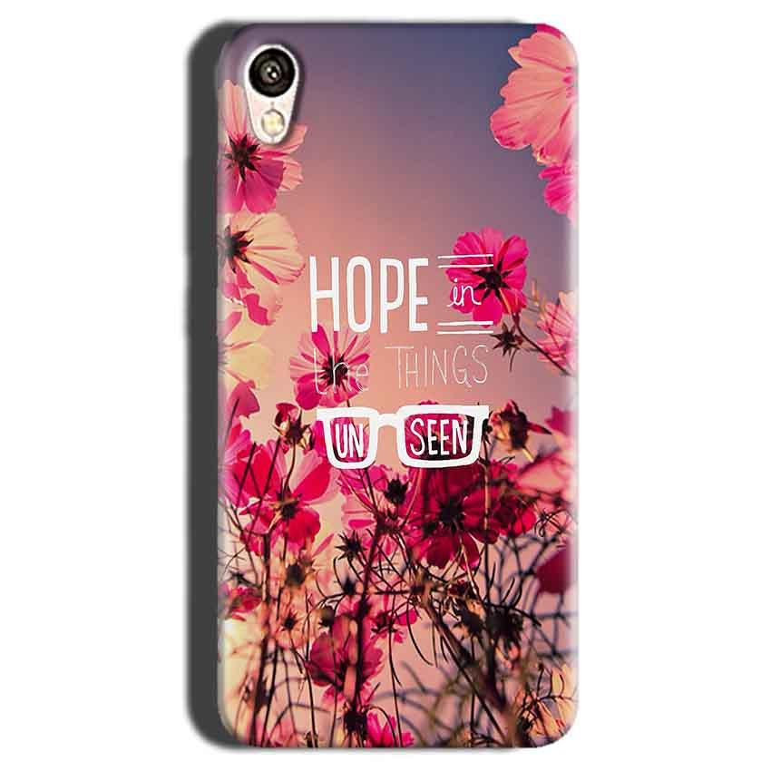 Gionee F103 Mobile Covers Cases Hope in the Things Unseen- Lowest Price - Paybydaddy.com