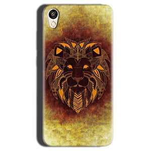 Gionee F103 Mobile Covers Cases Lion face art - Lowest Price - Paybydaddy.com