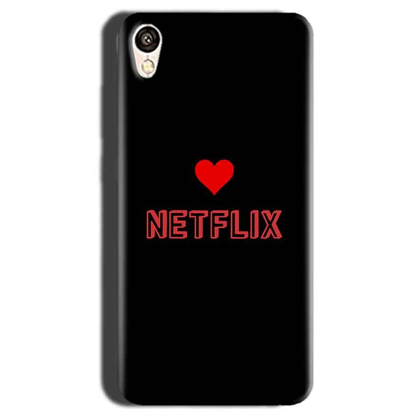 Gionee F103 Mobile Covers Cases NETFLIX WITH HEART - Lowest Price - Paybydaddy.com