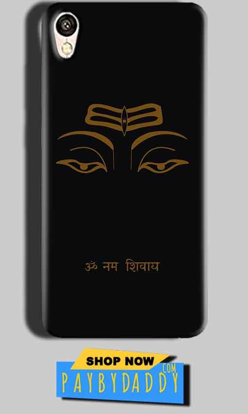 Gionee F103 Mobile Covers Cases Om Namaha Gold Black - Lowest Price - Paybydaddy.com
