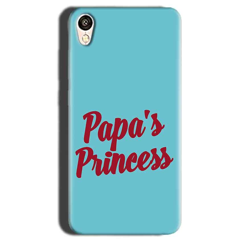 Gionee F103 Mobile Covers Cases Papas Princess - Lowest Price - Paybydaddy.com