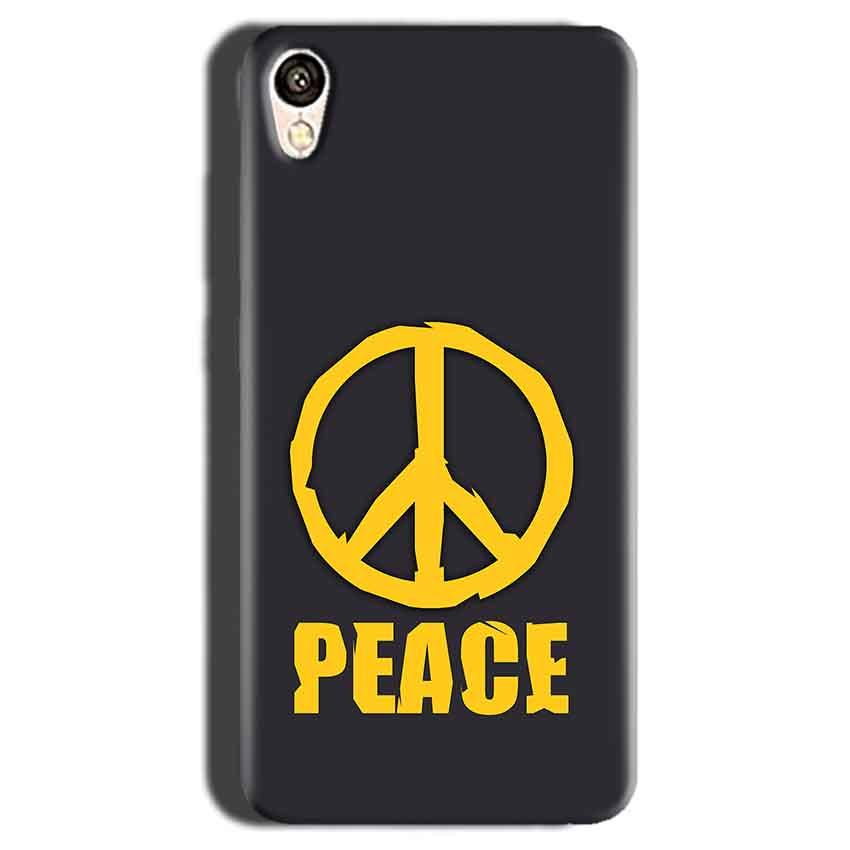 Gionee F103 Mobile Covers Cases Peace Blue Yellow - Lowest Price - Paybydaddy.com