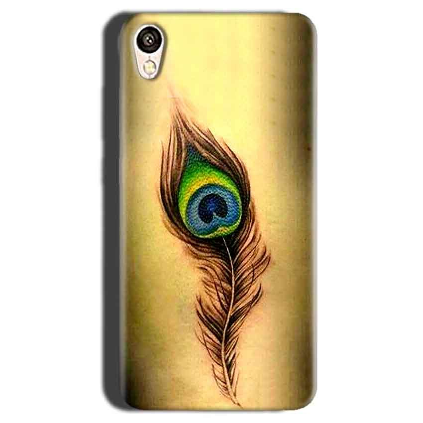 Gionee F103 Mobile Covers Cases Peacock coloured art - Lowest Price - Paybydaddy.com