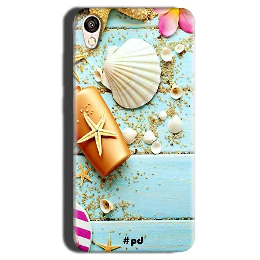Gionee F103 Mobile Covers Cases Pearl Star Fish - Lowest Price - Paybydaddy.com