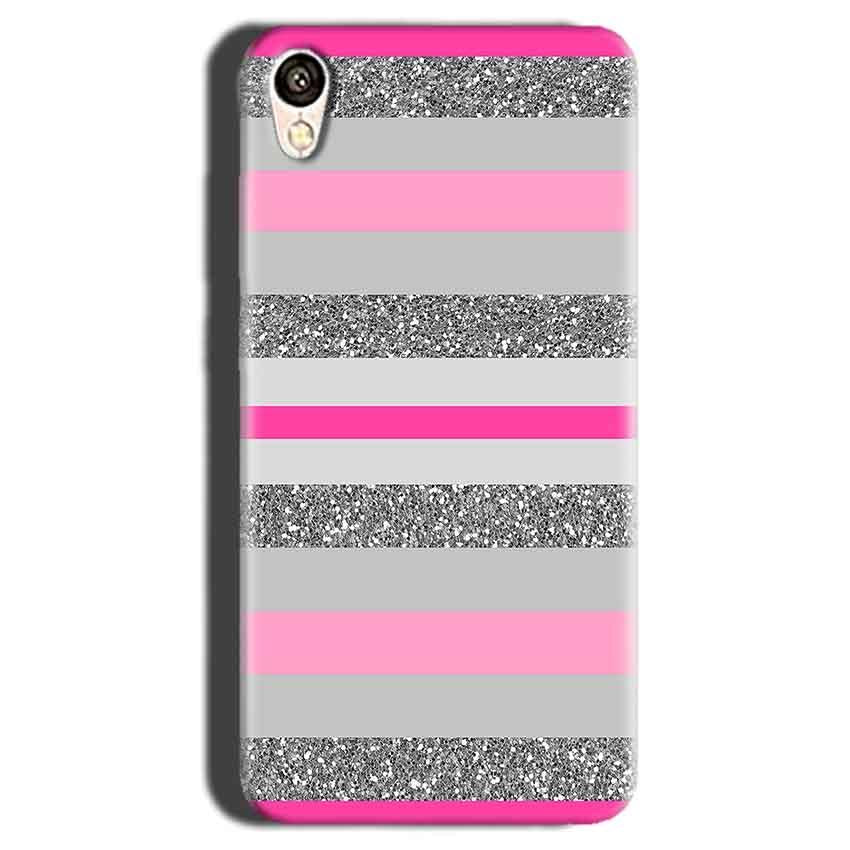 Gionee F103 Mobile Covers Cases Pink colour pattern - Lowest Price - Paybydaddy.com
