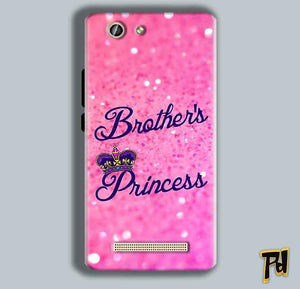 Gionee F103 Pro Mobile Covers Cases Brothers princess - Lowest Price - Paybydaddy.com