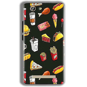 Gionee F103 Pro Mobile Covers Cases Foodie Design - Lowest Price - Paybydaddy.com