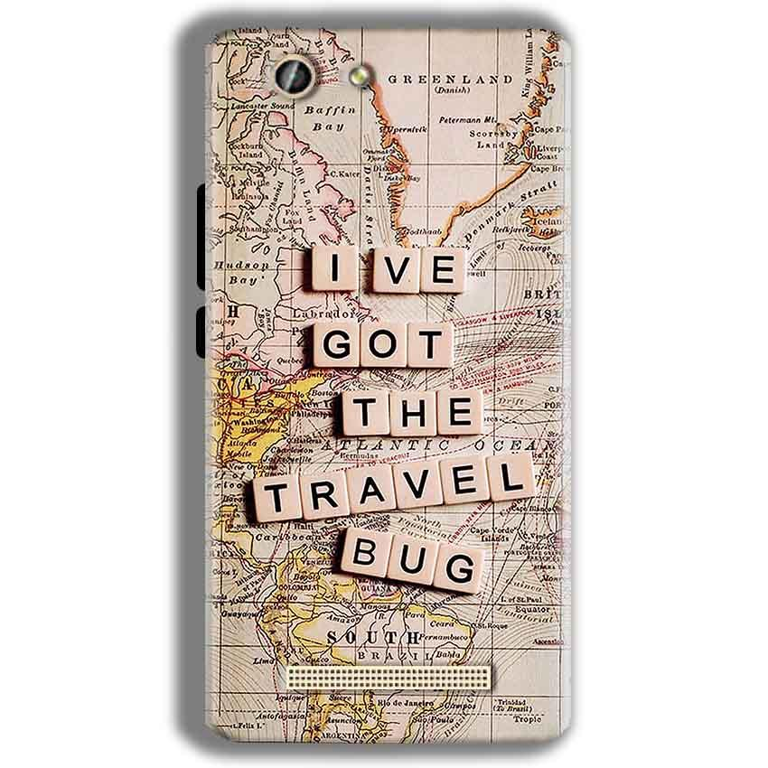 Gionee F103 Pro Mobile Covers Cases Live Travel Bug - Lowest Price - Paybydaddy.com