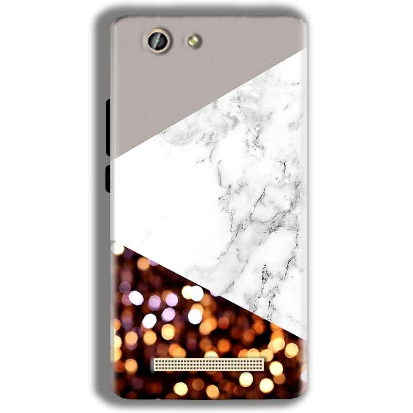 Gionee F103 Pro Mobile Covers Cases MARBEL GLITTER - Lowest Price - Paybydaddy.com