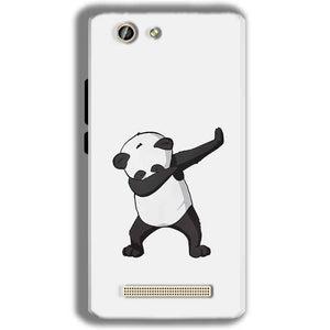 Gionee F103 Pro Mobile Covers Cases Panda Dab - Lowest Price - Paybydaddy.com