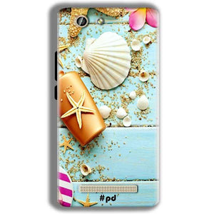 Gionee F103 Pro Mobile Covers Cases Pearl Star Fish - Lowest Price - Paybydaddy.com