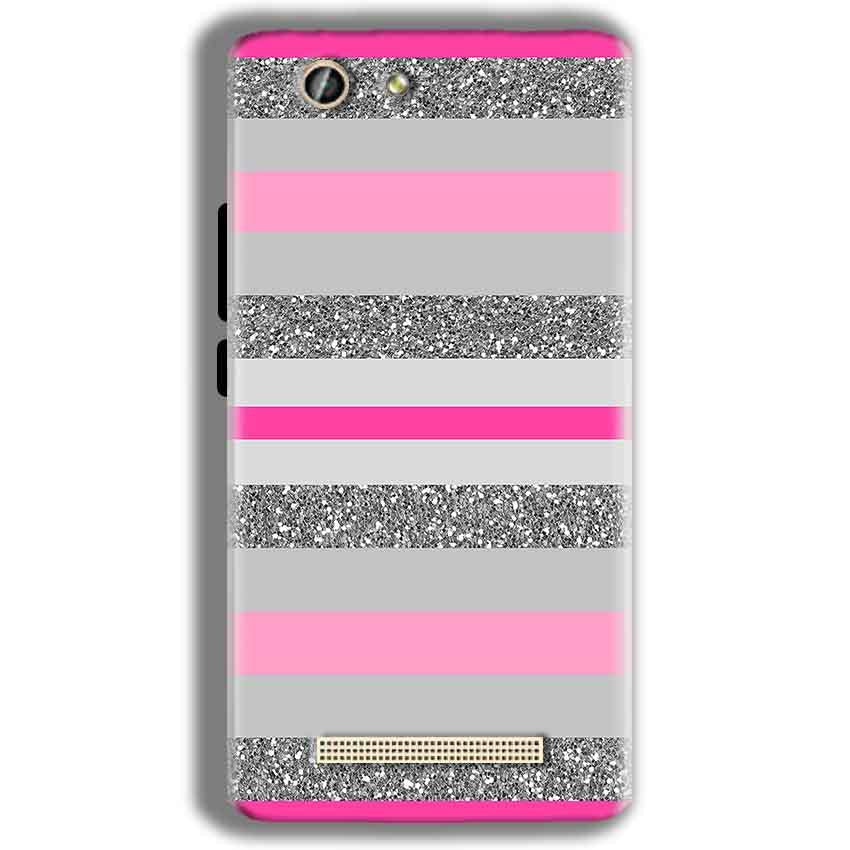 Gionee F103 Pro Mobile Covers Cases Pink colour pattern - Lowest Price - Paybydaddy.com