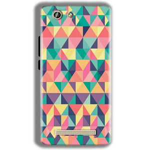 Gionee F103 Pro Mobile Covers Cases Prisma coloured design - Lowest Price - Paybydaddy.com