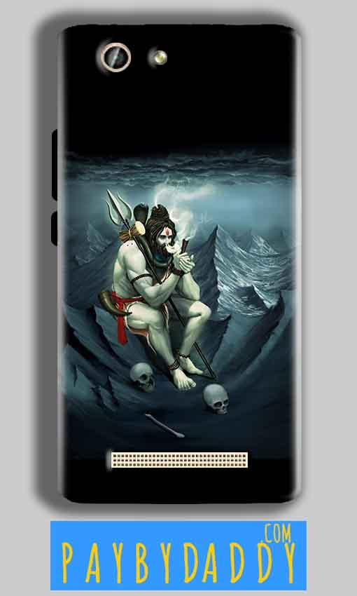 Gionee F103 Pro Mobile Covers Cases Shiva Smoking - Lowest Price - Paybydaddy.com