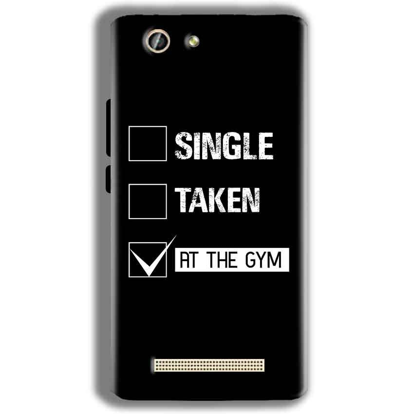 Gionee F103 Pro Mobile Covers Cases Single Taken At The Gym - Lowest Price - Paybydaddy.com