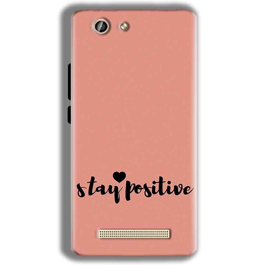 Gionee F103 Pro Mobile Covers Cases Stay Positive - Lowest Price - Paybydaddy.com