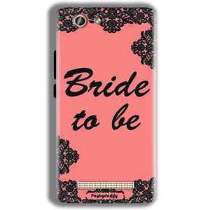 Gionee F103 Pro Mobile Covers Cases Mobile Covers Cases bride to be with ring Black Pink - Lowest Price - Paybydaddy.com