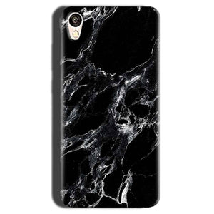 Gionee F103 Mobile Covers Cases Pure Black Marble Texture - Lowest Price - Paybydaddy.com