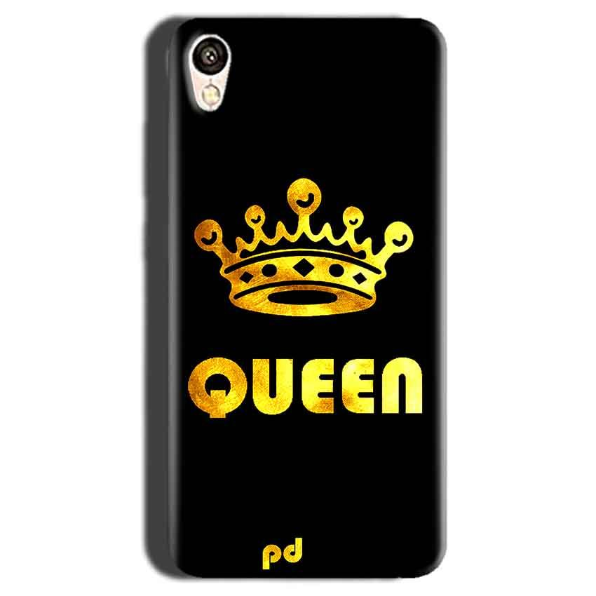 Gionee F103 Mobile Covers Cases Queen With Crown in gold - Lowest Price - Paybydaddy.com