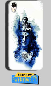 Gionee F103 Mobile Covers Cases Shiva Blue White - Lowest Price - Paybydaddy.com