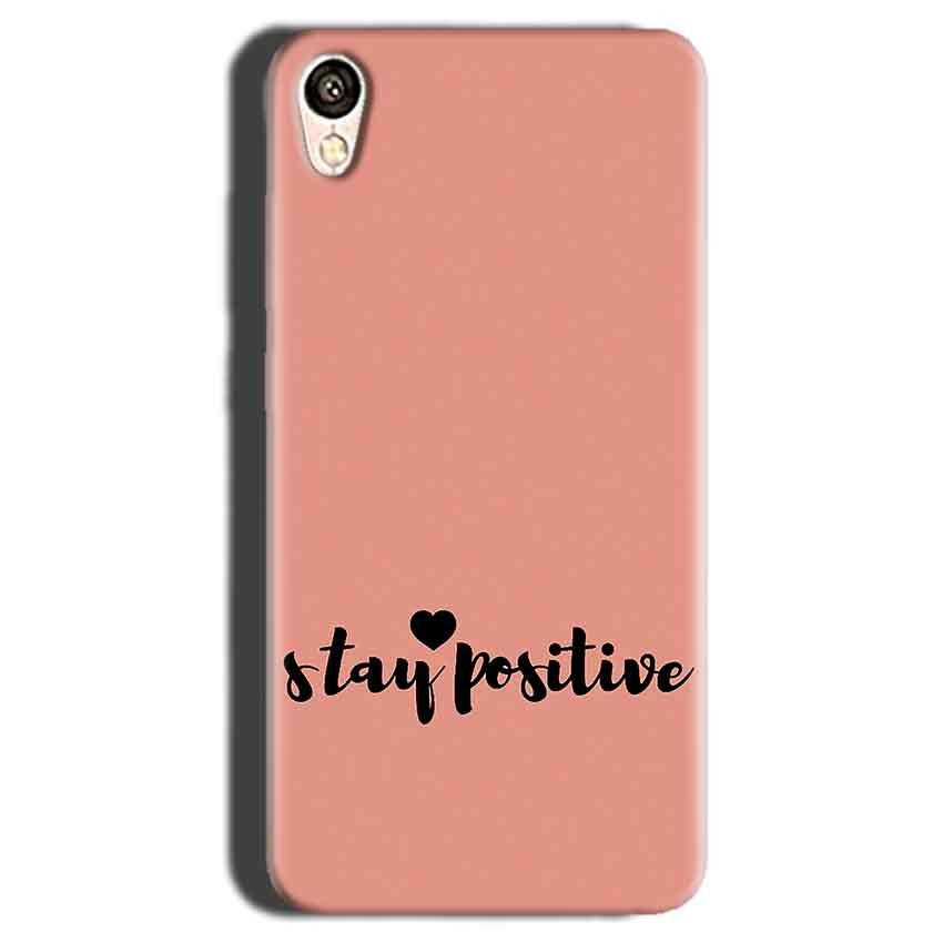Gionee F103 Mobile Covers Cases Stay Positive - Lowest Price - Paybydaddy.com