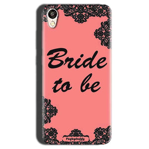 Gionee F103 Mobile Covers Cases Mobile Covers Cases bride to be with ring Black Pink - Lowest Price - Paybydaddy.com