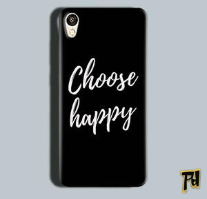 Gionee F103 Mobile Covers Cases Choose happy - Lowest Price - Paybydaddy.com