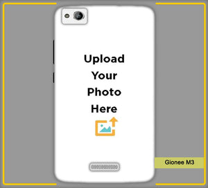 Gionee M3 Photo & Text Phone Photo Back Cover - Paybydaddy