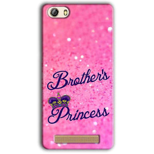 Gionee M5 Lite Mobile Covers Cases Brothers princess - Lowest Price - Paybydaddy.com