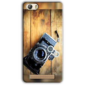 Gionee M5 Lite Mobile Covers Cases Camera With Wood - Lowest Price - Paybydaddy.com