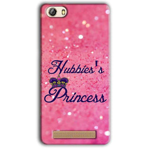 Gionee M5 Lite Mobile Covers Cases Hubbies Princess - Lowest Price - Paybydaddy.com