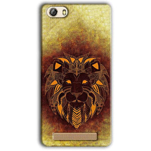 Gionee M5 Lite Mobile Covers Cases Lion face art - Lowest Price - Paybydaddy.com