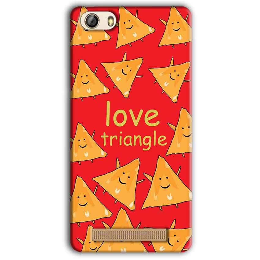 Gionee M5 Lite Mobile Covers Cases Love Triangle - Lowest Price - Paybydaddy.com