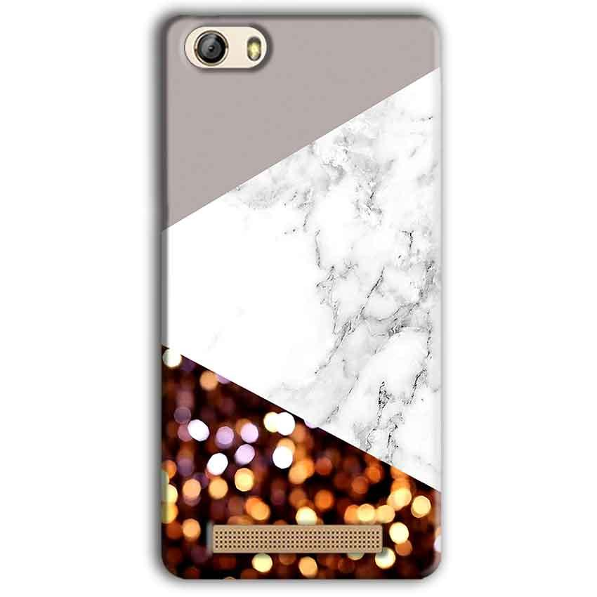 Gionee M5 Lite Mobile Covers Cases MARBEL GLITTER - Lowest Price - Paybydaddy.com