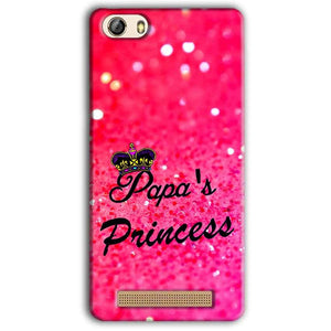 Gionee M5 Lite Mobile Covers Cases PAPA PRINCESS - Lowest Price - Paybydaddy.com