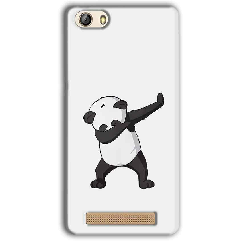 Gionee M5 Lite Mobile Covers Cases Panda Dab - Lowest Price - Paybydaddy.com