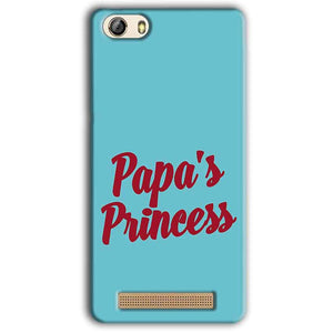 Gionee M5 Lite Mobile Covers Cases Papas Princess - Lowest Price - Paybydaddy.com