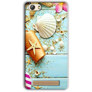 Gionee M5 Lite Mobile Covers Cases Pearl Star Fish - Lowest Price - Paybydaddy.com