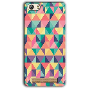 Gionee M5 Lite Mobile Covers Cases Prisma coloured design - Lowest Price - Paybydaddy.com