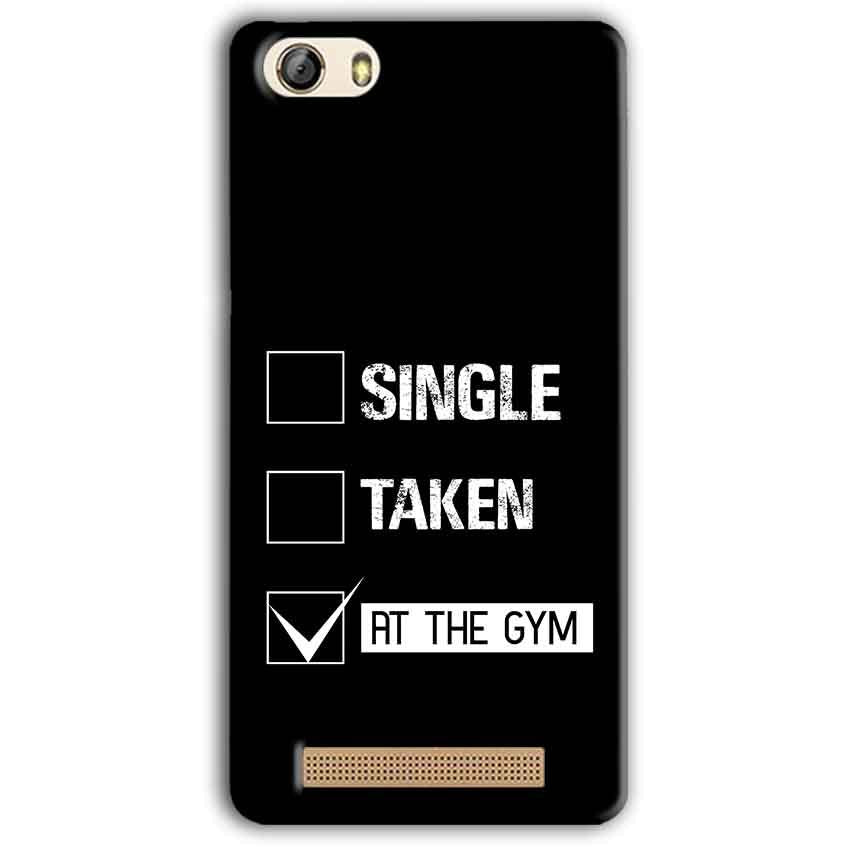 Gionee M5 Lite Mobile Covers Cases Single Taken At The Gym - Lowest Price - Paybydaddy.com