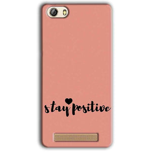 Gionee M5 Lite Mobile Covers Cases Stay Positive - Lowest Price - Paybydaddy.com