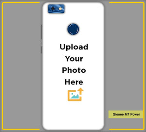 Gionee M7 Power Photo & Text Phone Photo Back Cover - Paybydaddy