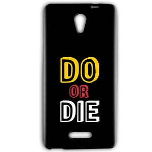 Gionee Marathon M4 Mobile Covers Cases DO OR DIE - Lowest Price - Paybydaddy.com