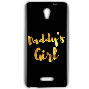 Gionee Marathon M4 Mobile Covers Cases Daddys girl - Lowest Price - Paybydaddy.com