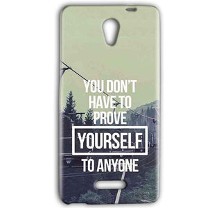 Gionee Marathon M4 Mobile Covers Cases Donot Prove yourself - Lowest Price - Paybydaddy.com