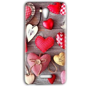 Gionee Marathon M4 Mobile Covers Cases Hearts- Lowest Price - Paybydaddy.com