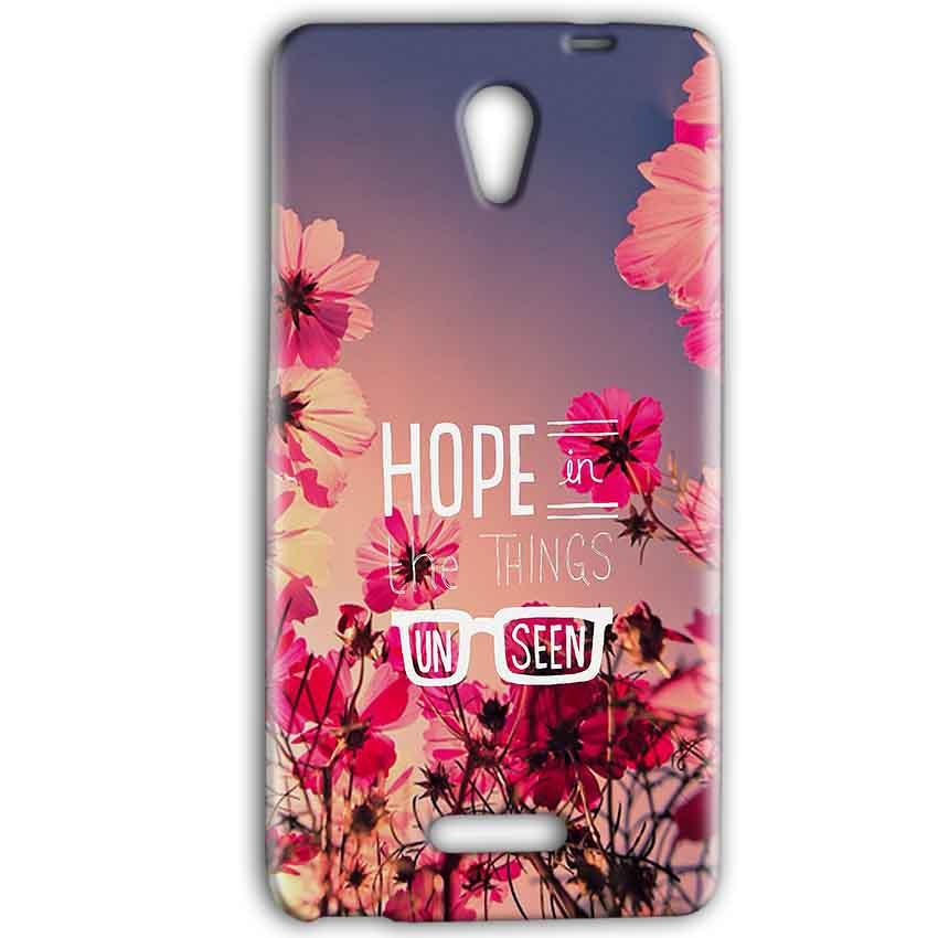 Gionee Marathon M4 Mobile Covers Cases Hope in the Things Unseen- Lowest Price - Paybydaddy.com