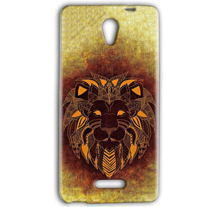Gionee Marathon M4 Mobile Covers Cases Lion face art - Lowest Price - Paybydaddy.com